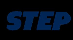 Step Logo Blue